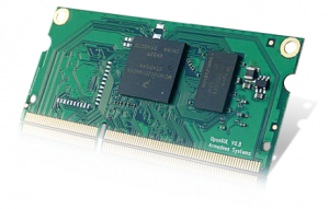 The new opos6UL sodimm board with a Wifi/Bt and 4GB eMMC